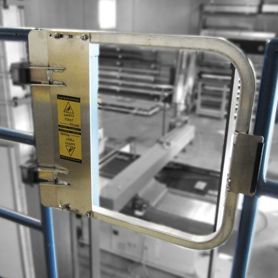 """21"""" Industrial Safety Gate - Aluminum"""