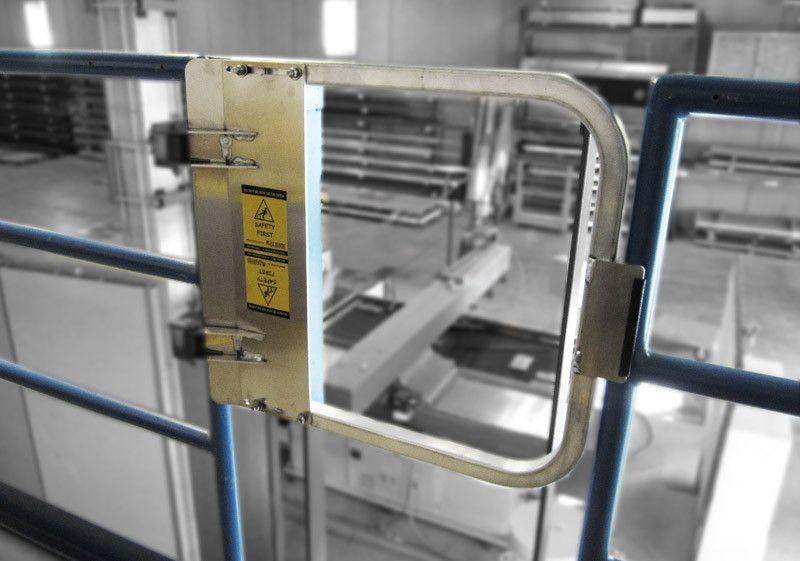 Aluminum Industrial Safety Gates