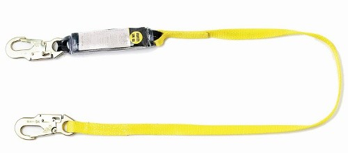 Single Leg Shock Absorbing Lanyard