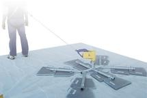 Angel Anchor System - roof tie-off point - does not penetrate