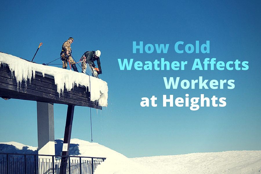 How Cold Weather Affects Workers At Heights Fall