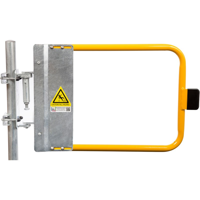 "48"" Yellow Industrial Safety Gate"