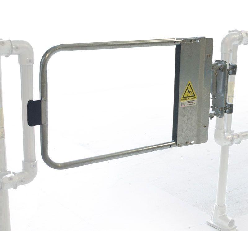 Galvanized Industrial Safety Gates