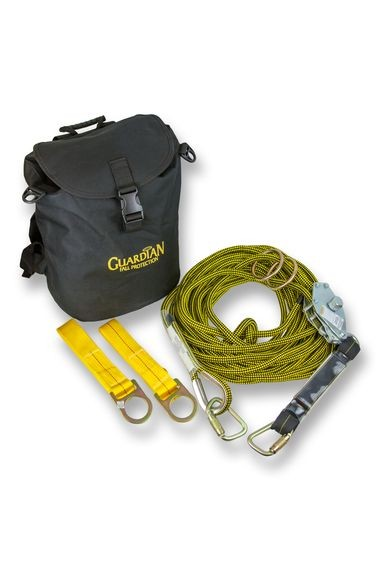 Guardian Horizontal Kernmantle Rope Lifeline System