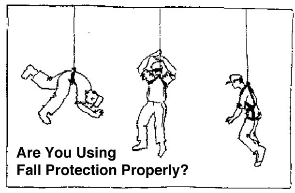 are you using fall protection properly