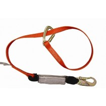 4' - 6' Double Lock - Shock Stop Adjustable Lanyards