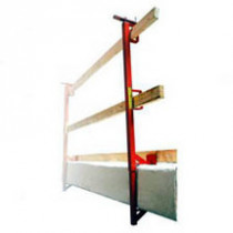 C-Slab Grabber - temporary construction guardrail - concrete decking guardrail