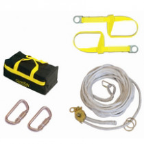 Guardian Horizontal Polyester Rope Lifeline System