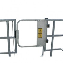 "27"" Industrial Safety Gate - Stainless Steel"