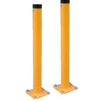 "Omega Safety Bollards 48"" Tall - 4"" & 6"" Diameters"