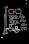 Metal Energy Absorber Kit 100'