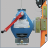Technora® Rope DuraTech® SRL-R shown mounted on Davit System (6050128)