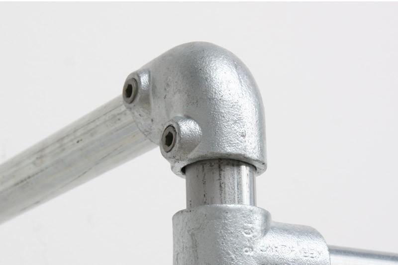 Kee klamp pipe fitting type ° elbow simplified