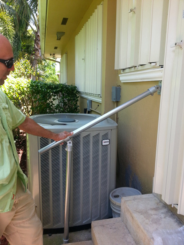 Hybrid C50 C58 Outdoor Stair Railing Easy Install