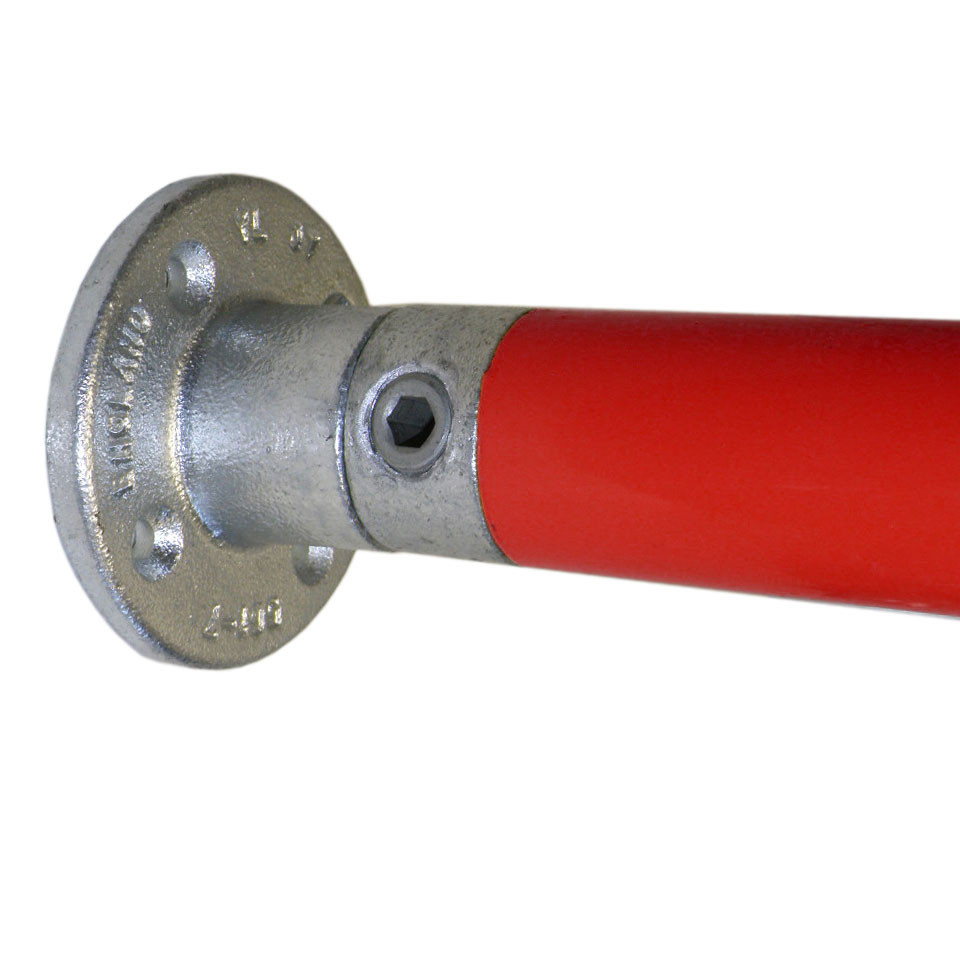 Wall flange quot with internal couplings kee