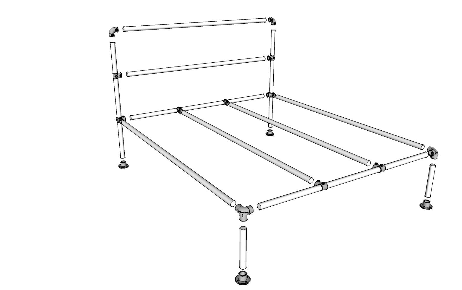 Manhattan Bed Frame Part Bundles Kits Simplified