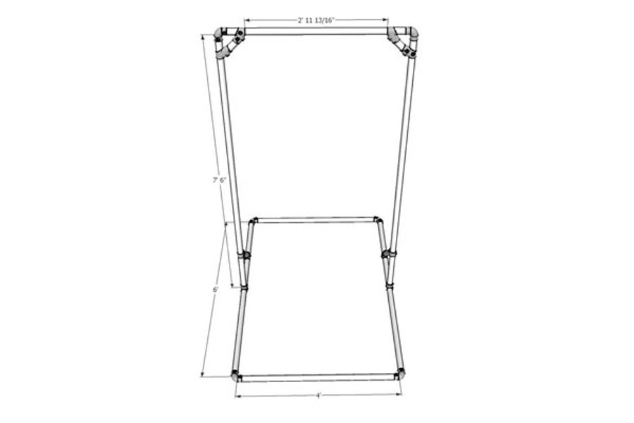 Free Standing Pull Up Bar Simplified Building