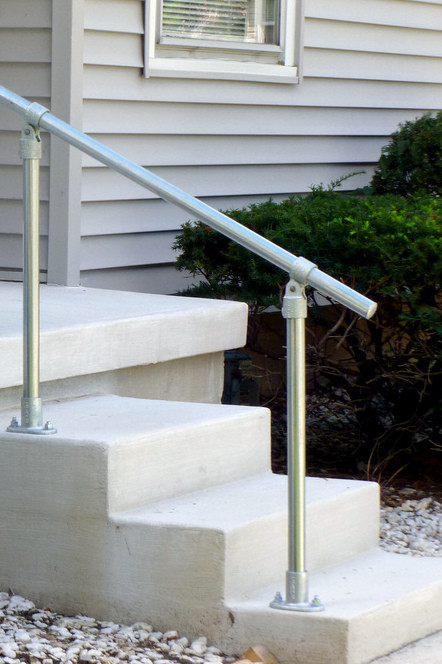 Surface C50 Outdoor Stair Railing Easy Install Handrail