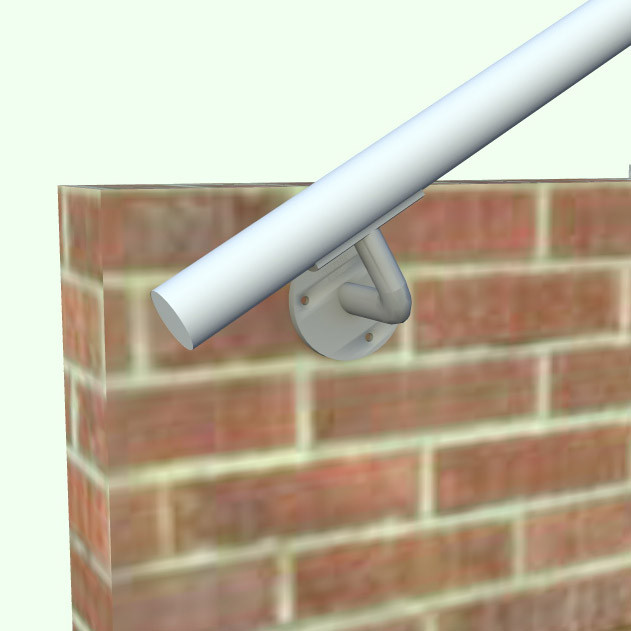 Hybrid 518 570 Outdoor Stair Railing Easy Install