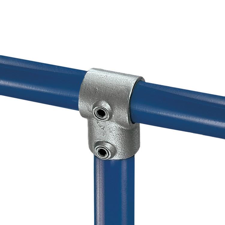 Kee klamp pipe fitting single socket tee