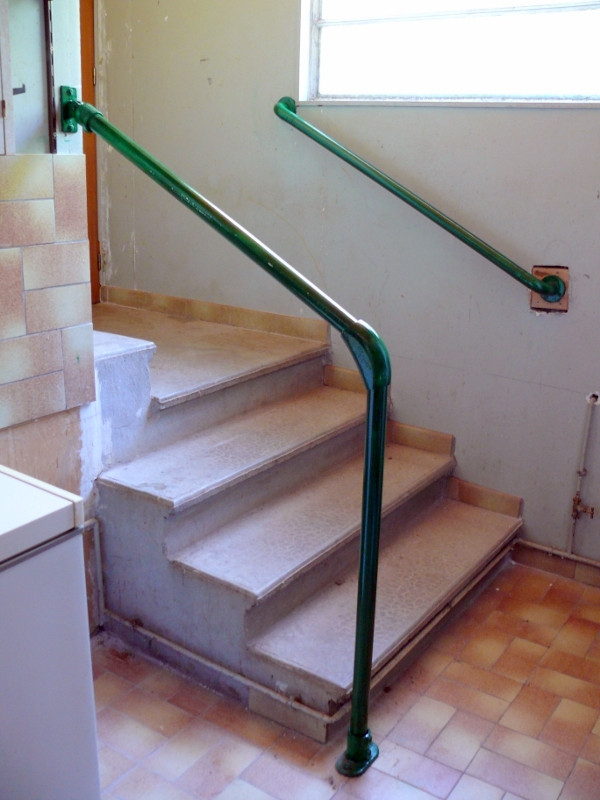 Hybrid 55 C58 Outdoor Stair Railing Easy Install