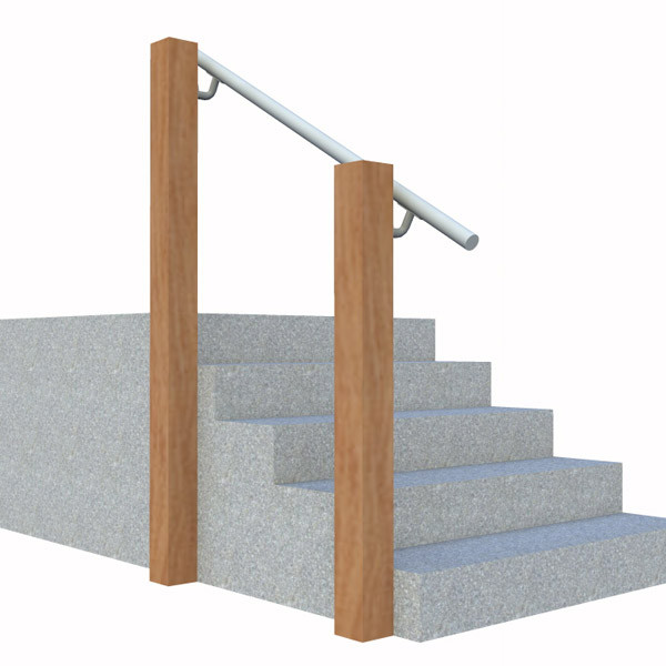 Wall 570 Wall Mounted Stair Railing Easy Install