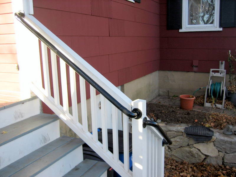 Wall 565 - Wall Mounted Stair Railing, Easy Install ...