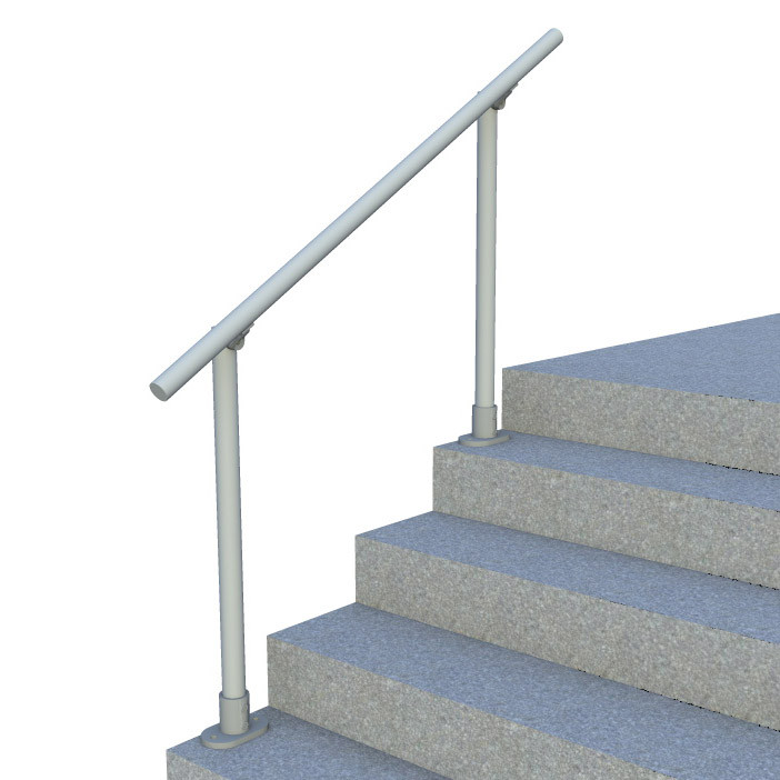 Surface L160 Outdoor Stair Railing Easy Install Handrail Simplified Building