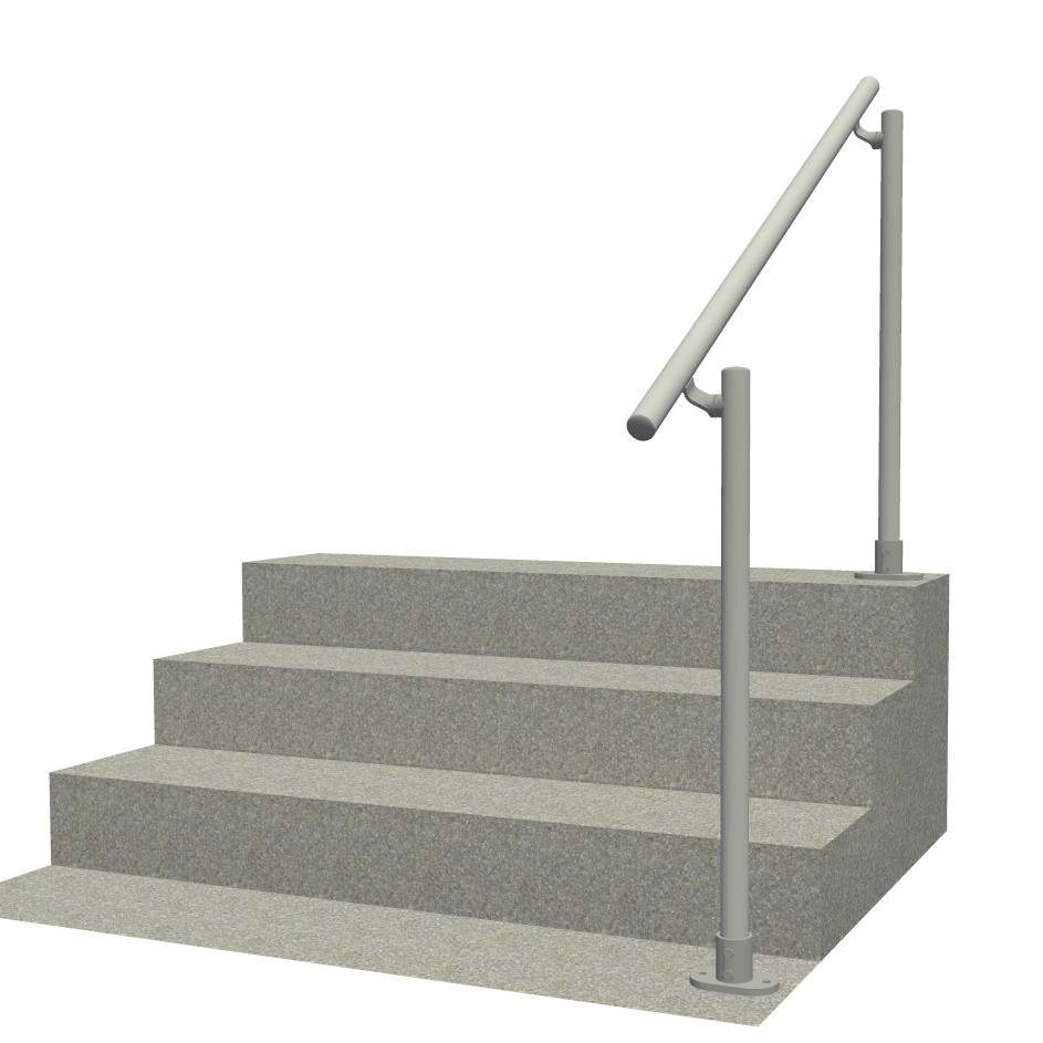 Surface l a aluminum outdoor stair railing