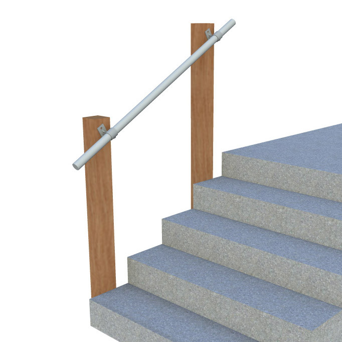 Wall 70 - Wall Mounted Stair Railing, Easy Install ...