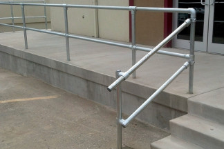 Easy to Install Pipe Railing for your Business