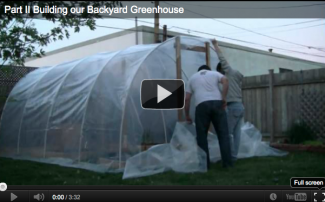 Using Snap Clamps to Build a Greenhouse for Under $150  [Video]