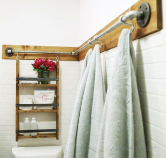 40+ Bathroom Shelf Ideas You Can Build Yourself