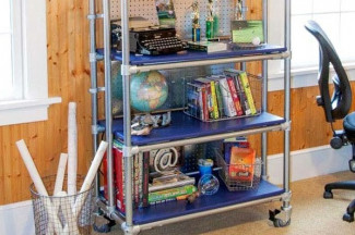 DIY Rolling Bookcase (with Step-by-Step Plans)