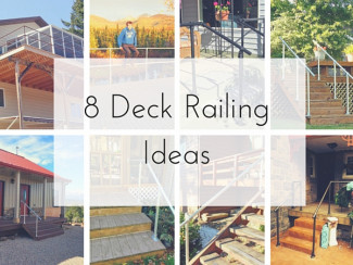8 Deck Railing Ideas