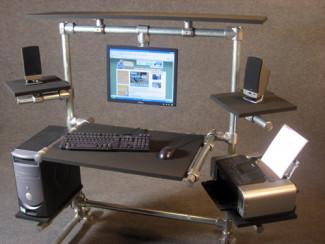 Ron Hazelton Modular Computer Desk