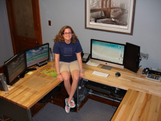 Information Systems Wrap Around Work Station [Desk Week]