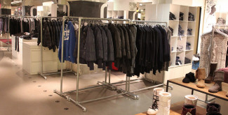Kee Klamp Clothing Racks Spotted in Paris [Updated]