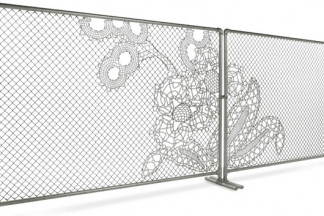 Good Fences Don't Make Good Neighbors... Unless it's a Lace Fence