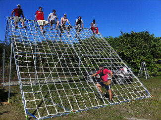 Cargo Net Climbing Obstacle [Update]
