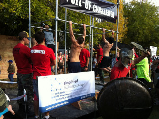 Spartan Pull-Up Challenge - Sponsored by Simplified Building