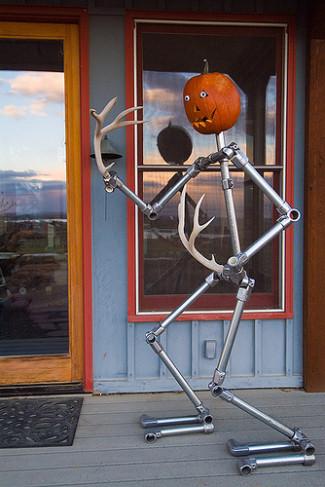 Kee Klamp Pumpkin Head