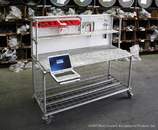 Workstation Warehouse Cart