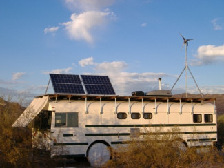 Amazing Bus Conversion - Part 1 - Wind Turbine