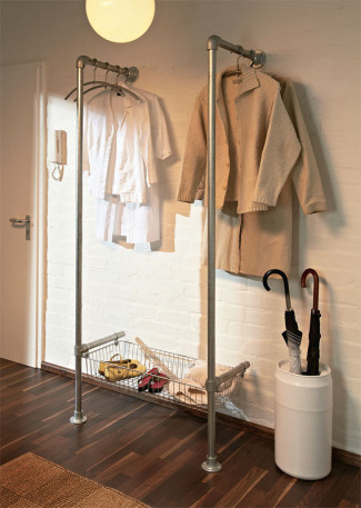 Build Your Own Modern Clothing / Coat Rack