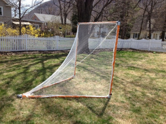 Build Your Own Heavy Duty, Portable Lacrosse Net