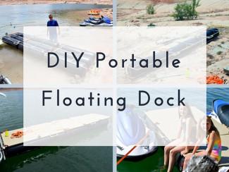 DIY Portable Floating Dock
