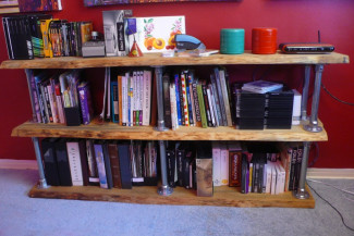 DIY Industrial Bookcase: Plans to Build Your Own