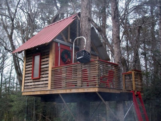 Amazing DIY Tree House