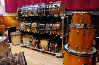 Rolling Snare Drum Rack
